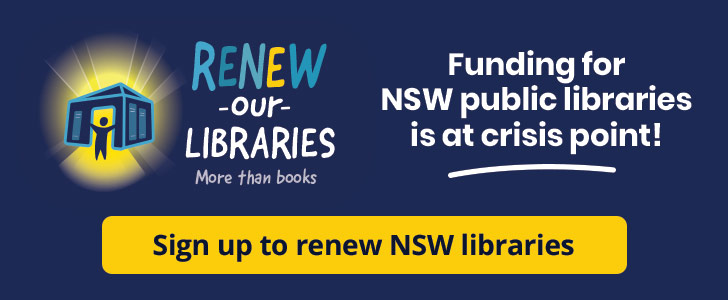 Renew our Libraries campaign